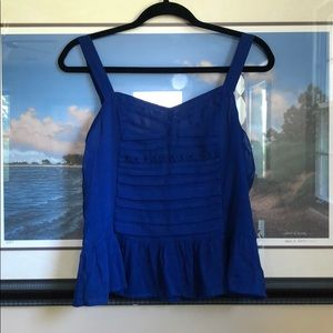 American Eagle outfitters blue summer top
